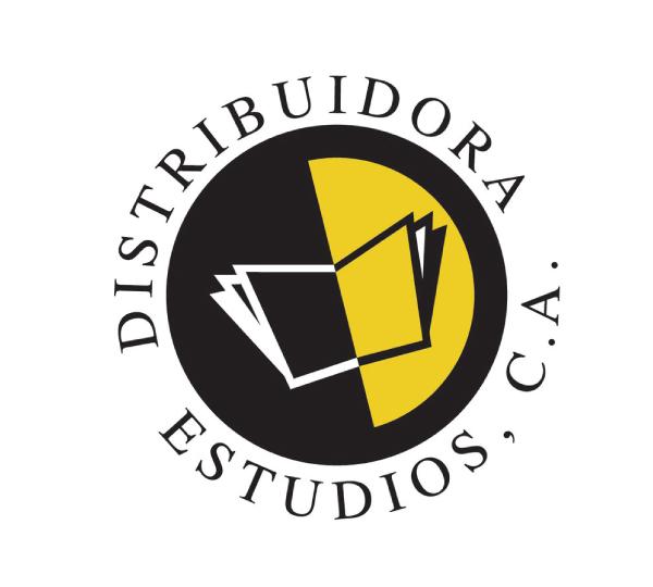 Logo Distribuidora Estudios CA. Un libro.