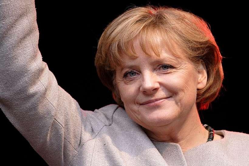Angela Merkel, dama de seda